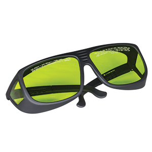 LG1 - Laser Safety Glasses, Light Green Lenses, 59% Visible Light Transmission