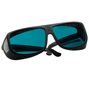 LG4 - Laser Safety Glasses, Dark Blue Lenses, 12% Visible Light Transmission, Universal Style