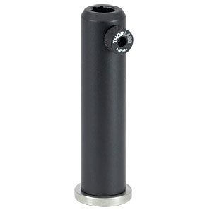 PH4E - Ø1/2in Pedestal Post Holder, Spring-Loaded Hex-Locking Thumbscrew, L=4.19in