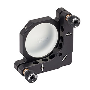 KM200-E02 - Kinematic Mirror Mount for Ø2in Optics with Visible Laser Quality Mirror