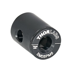 SM05PM5 - SM05 Lens Tube Mount for 5 mm Mounted Polarizing Prisms