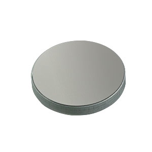 ME1-G01 - Ø1in Round Protected Aluminum Mirror, 3.2 mm Thick