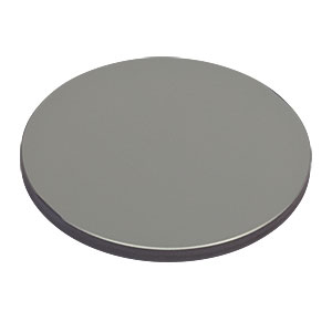 ME2-G01 - Ø2in Round Protected Aluminum Mirror, 3.2 mm Thick