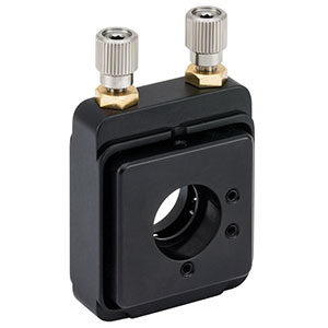 VM05 - Kinematic Mount with Vertical Drive, Ø1/2in Optics, 8-32 and 4-40 Taps
