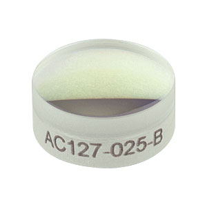 AC127-025-B - f=25.0 mm, Ø1/2in Achromatic Doublet, ARC: 650-1050 nm