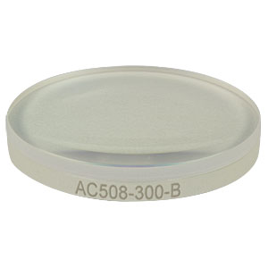 AC508-300-B - f = 300.0 mm, Ø2in Achromatic Doublet, ARC: 650 - 1050 nm