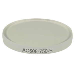 AC508-750-B - f=750.0 mm, Ø2in Achromatic Doublet, ARC: 650-1050 nm