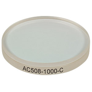 AC508-1000-C - f = 1010.0 mm, Ø2in Achromatic Doublet, ARC: 1050 - 1700 nm