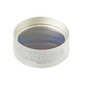 ACN127-030-B - f = -30.0 mm, Ø1/2in Achromatic Doublet, ARC: 650 - 1050 nm