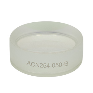 ACN254-050-B - f = -50.0 mm, Ø1in Achromatic Doublet, ARC: 650 - 1050 nm