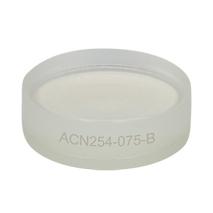 ACN254-075-B - f = -75.0 mm, Ø1in Achromatic Doublet, ARC: 650 - 1050 nm