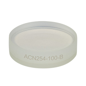 ACN254-100-B - f = -100.0 mm, Ø1in Achromatic Doublet, ARC: 650 - 1050 nm