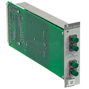 OSW8202 - PRO8 Series Optical Switch, 2 x 2 MEMS, FC/APC, 1 Slot Wide