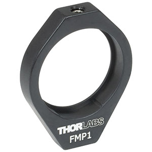 FMP1 - Fixed Ø1in Mirror Mount, 8-32 Tap