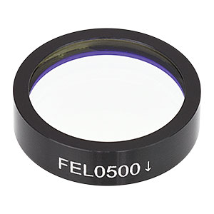 FEL0500 - Longpass Filter, Cut-On Wavelength: 500 nm