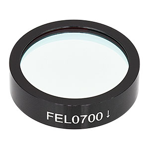 FEL0700 - Longpass Filter, Cut-On Wavelength: 700 nm