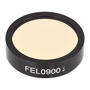 FEL0900 - Ø1in Longpass Filter, Cut-On Wavelength: 900 nm