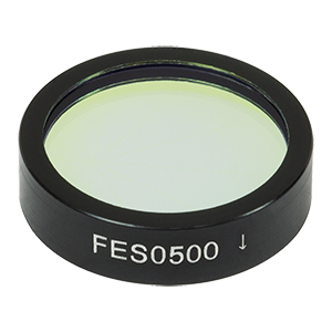 FES0500 - Shortpass Filter, Cut-Off Wavelength: 500 nm