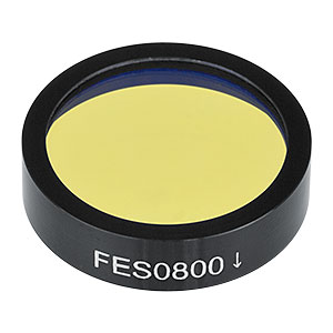 FES0800 - Shortpass Filter, Cut-Off Wavelength: 800 nm