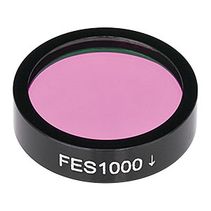FES1000 - Shortpass Filter, Cut-Off Wavelength: 1000 nm