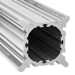XT95RL2 - Raw, Unanodized 95 mm Rail Extrusion, 2 m