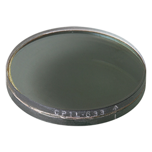 CP1L633 - Left-Handed Circular Polarizer, 633 nm