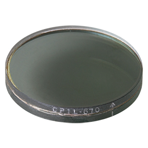 CP1L670 - Left-Handed Circular Polarizer, 670 nm