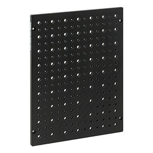 MSB1823 - Aluminum Breadboard for EC2030 Enclosures, 7.09in x 9.06in x 0.28in, 8-32 and 1/4in-20 High-Density Taps
