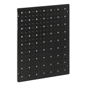 MSB1823/M - Aluminum Breadboard for EC2030 Enclosures, 180 mm x 230 mm x 7 mm, M4 and M6 High-Density Taps