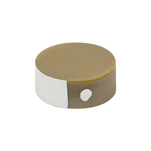 PA25FE - Round Piezo Chip, 200 V, 2.8 µm Displacement, Ø5.0 mm, 2.0 mm Long, Bare Electrodes
