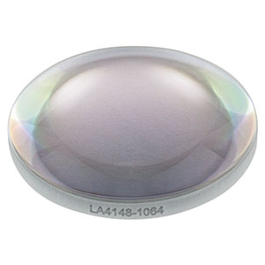 LA4148-1064 - f = 50 mm, Ø1in UVFS Plano-Convex Lens, 1064 nm V-Coat