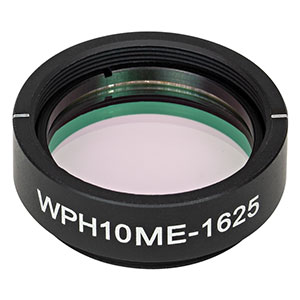WPH10ME-1625 - Ø1in Mounted Polymer Zero-Order Half-Wave Plate, SM1-Threaded Mount, 1625 nm