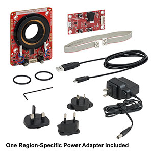 ELL14K - Rotation Mount Bundle: ELL14 Mount, Interface Board, Power Supply,  Cables