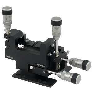 MBT401D/M - MicroBlock™ 4-Axis Waveguide Manipulator with Differential Drives, M3 Taps