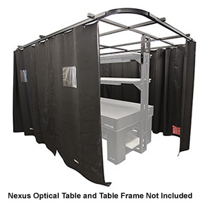 TFL1020W - Laser Curtain Kit for 1 m x 2 m Nexus™ Optical Table, Complete Walkway