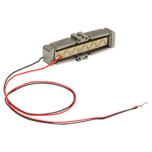APF503 - Amplified Piezoelectric Actuator with Flexure Mount, 150 V, 390 µm Max Displacement