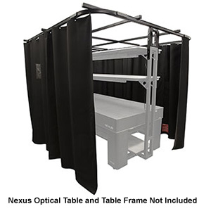 TFL1225N - Laser Curtain Kit for 1.2 m x 2.5 m Nexus™ Optical Table, Partial Walkway