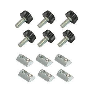 LPCLT1 - Side-Mounting Kit for Blackout Curtain Panels, M4 Threads (Pack of 6)