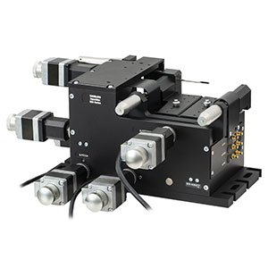 MAX682 - 6-Axis NanoMax Stage, Stepper Motors, Open-Loop Piezos, Right-Handed, Imperial