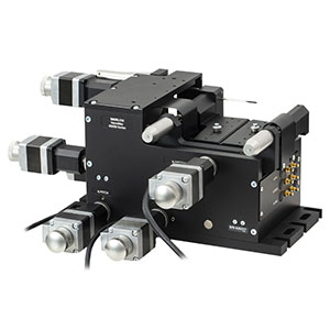 MAX682/M - 6-Axis NanoMax Stage, Stepper Motors, Open-Loop Piezos, Right-Handed, Metric