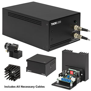 GVSM001-EC - 1D Galvo System with Accessories and Imperial Heatsink, 230 V PSU