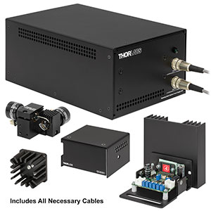 GVSM002-EC/M - 2D Galvo System with Accessories and Metric Heatsink, 230 V PSU