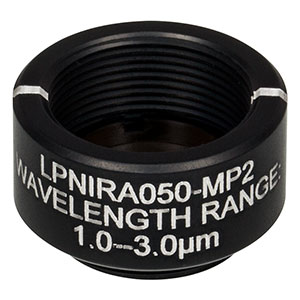 LPNIRA050-MP2 - Ø12.5 mm SM05-Mounted Linear Polarizer, 1000 - 3000 nm
