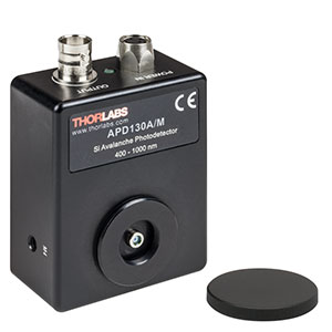APD130A/M - Si Avalanche Photodetector, Temperature Compensated, 400 - 1000 nm, M4 Taps
