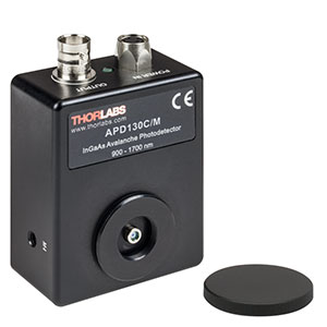 APD130C/M - InGaAs Avalanche Photodetector, Temperature Compensated, 900 - 1700 nm, M4 Taps