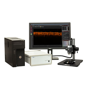 GAN610C1 - Spectral Domain OCT System, 930 nm, 6.0 µm Resolution, 5 to 248 kHz