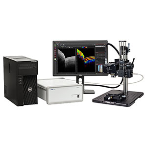 TEL210PSC2 - Spectral Domain PS-OCT System, 1325 nm, 12 µm Resolution, 5.5 to 76 kHz
