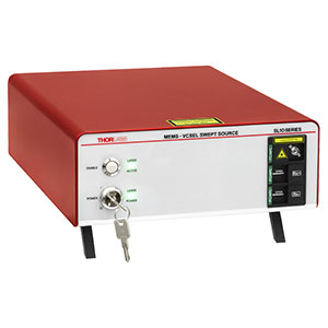 SL101061 - 1060 nm MEMS-VCSEL Source, 100 kHz Sweep Rate, 48 mm MZI Delay, Balanced Detection