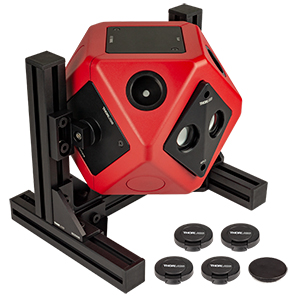 4P4 - Ø100 mm Integrating Sphere with 4 Modular Faces, Reflection Measurement Configuration