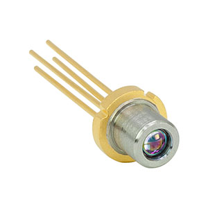L1310P5DFB - 1310 nm, 5 mW, Ø5.6 mm, D Pin Code, DFB Laser Diode with Aspheric Lens Cap